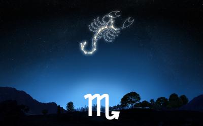Il sole entra nel segno zodiacale dello Scorpione
