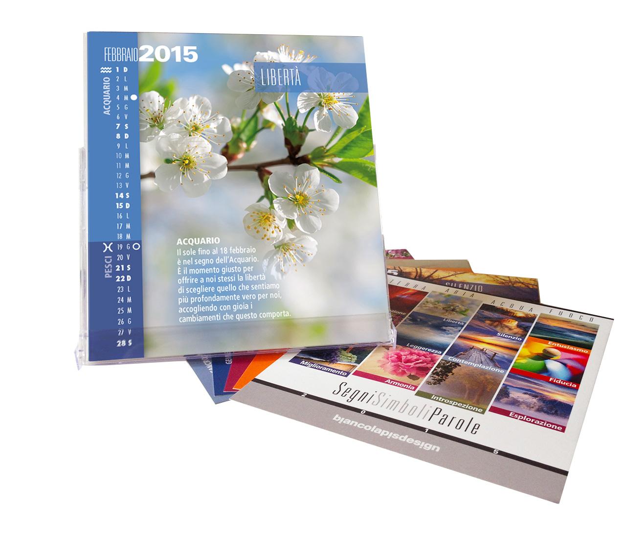 Calendario Astrologico SegniSimboliParole 2015